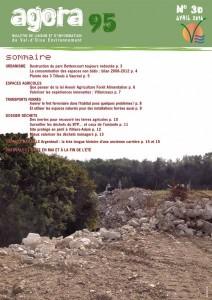 couverture du magazine agora 95 numéro 30 avril 2014